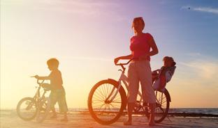 Entre étangs et mer : randonnée vélo autour de Montpellier