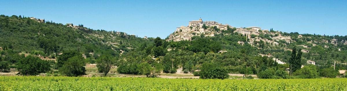 Location vacances Aubignan Pays d'Avignon