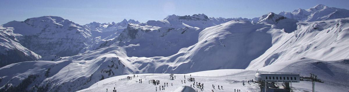 Location de vacances au ski à Flaine