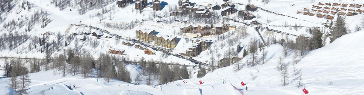 Location de vacances au ski à Isola 2000
