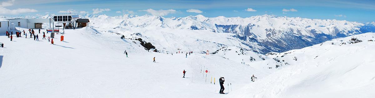 Location de vacances au ski aux Menuires