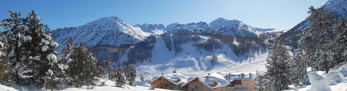 Location de vacances au ski à Montgenevre