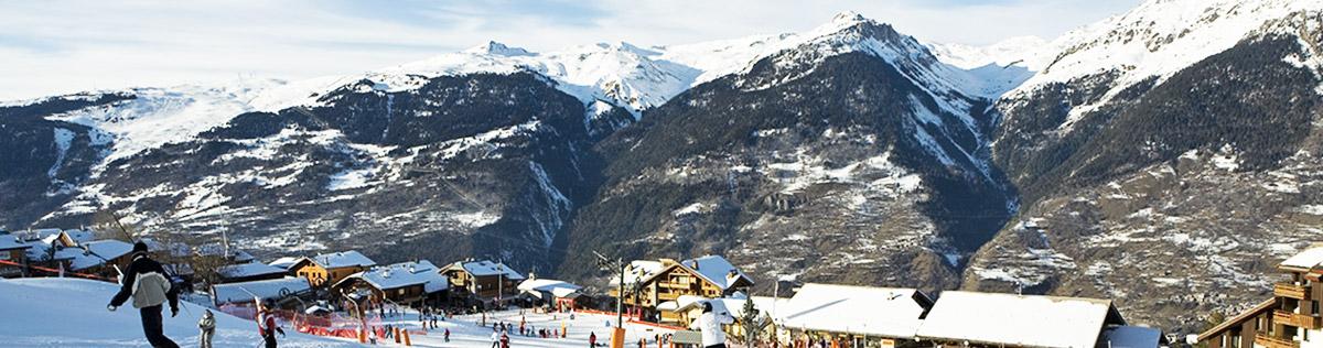 Location de vacances au ski à la Plagne Montalbert