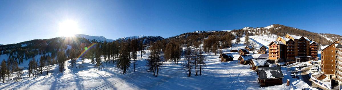 Location de vacances au ski à Risoul