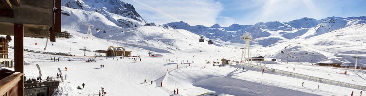 Location de vacances au ski à Val Thorens