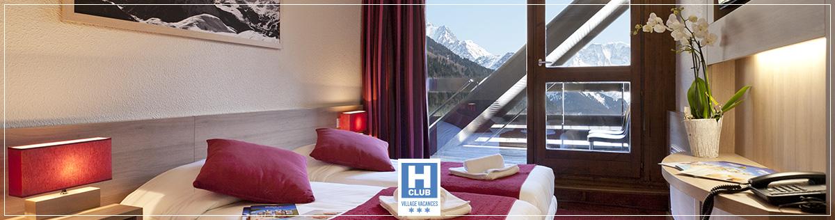 Hébergement - Hotels Club classés Villages Vacances 3 étoiles