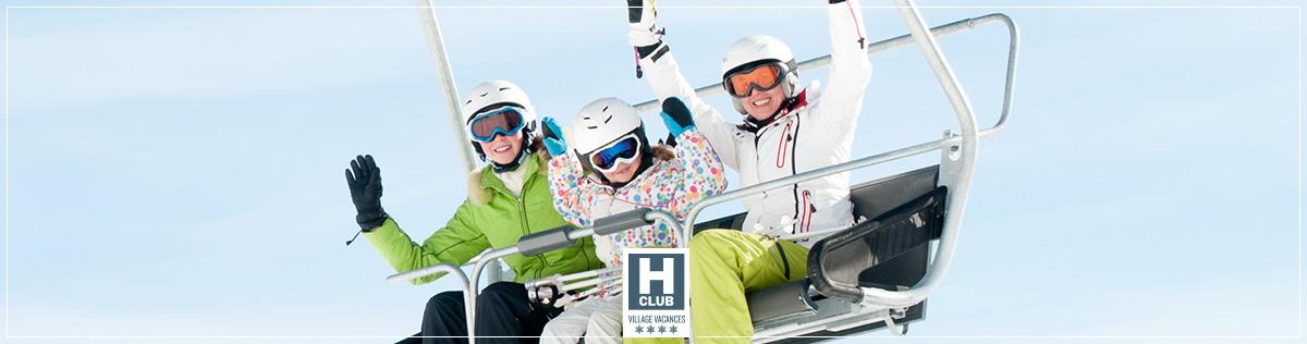 La Glisse - Hotels Club classés Villages Vacances 4 étoiles