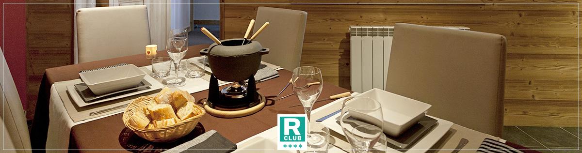 Services restauration - Résidence Club 4 étoiles