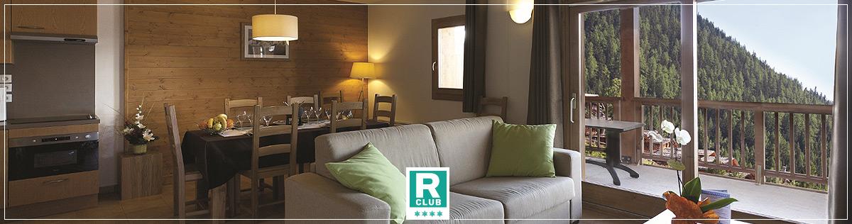 Hébergement - Résidence Club 4 étoiles