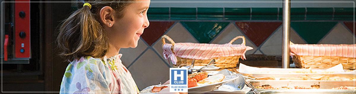 Restauration - Hotels Club classés Villages Vacances 3 étoiles