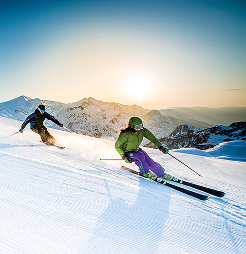 Our destinations for skiing french alps