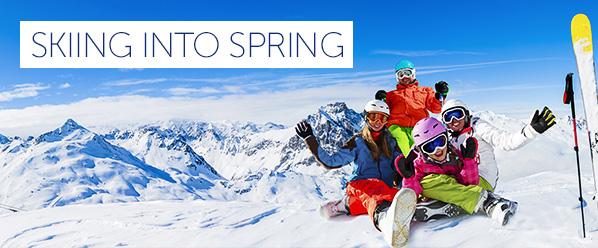 Séjour ski printemps
