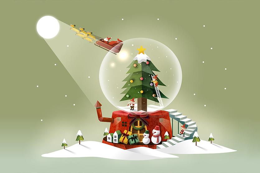 Noël dans votre Hôtel CLUB mmv : programme féérique !
