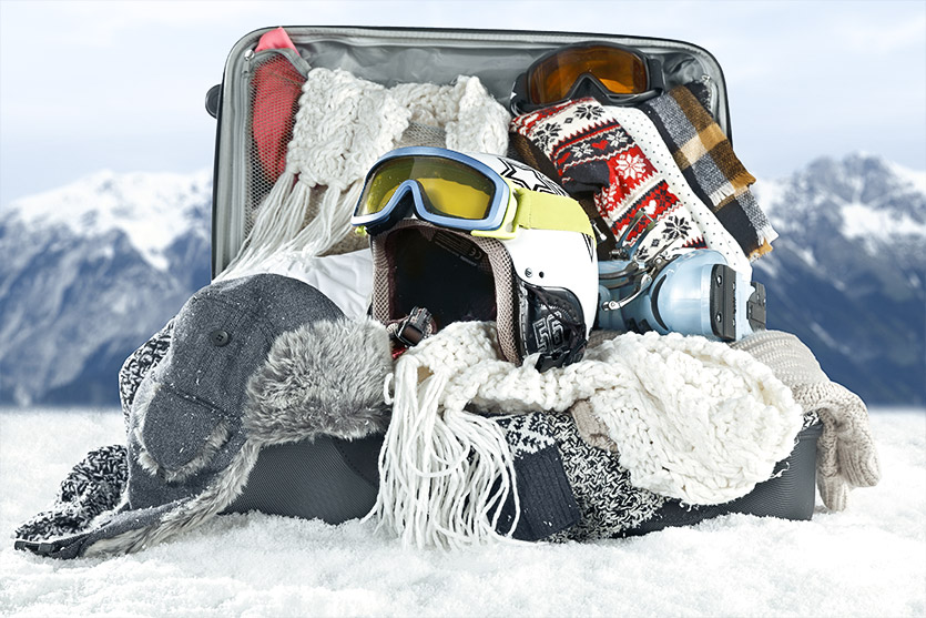 the checklist before going on a ski holiday