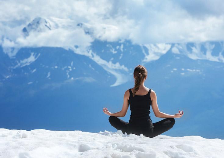 que la montagne est zen