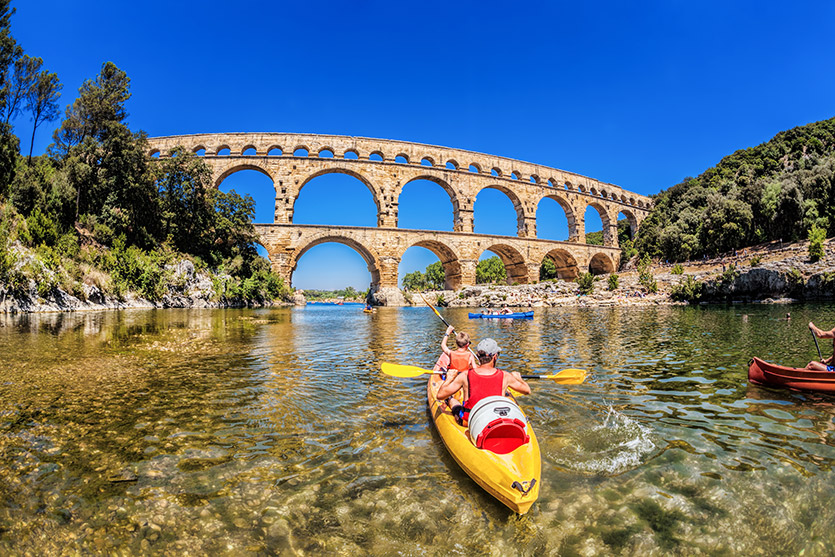 Another look at the Pont du Gard
