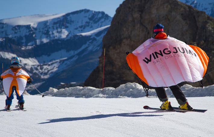 Découvrez le Wingjump : skier va vous donner des ailes !