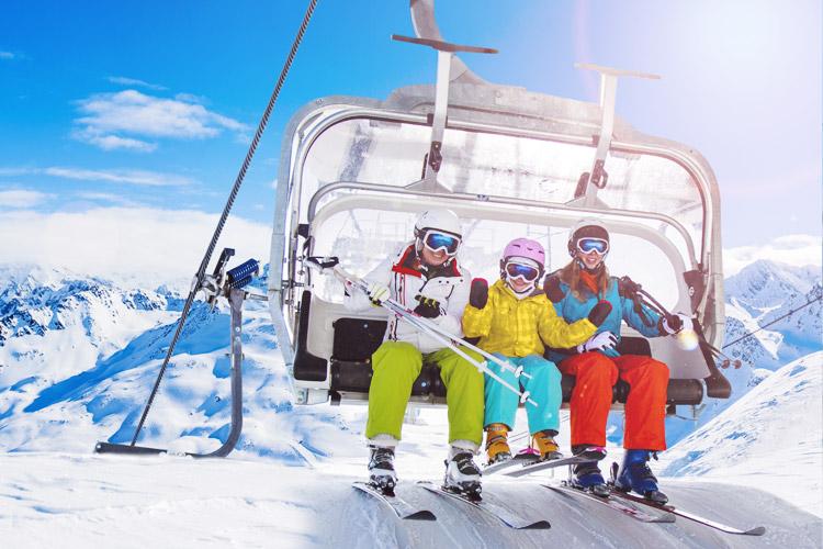 Vacances ski les arcs enfant