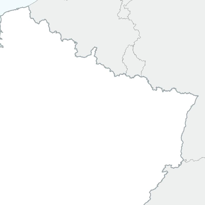 map of North-east France