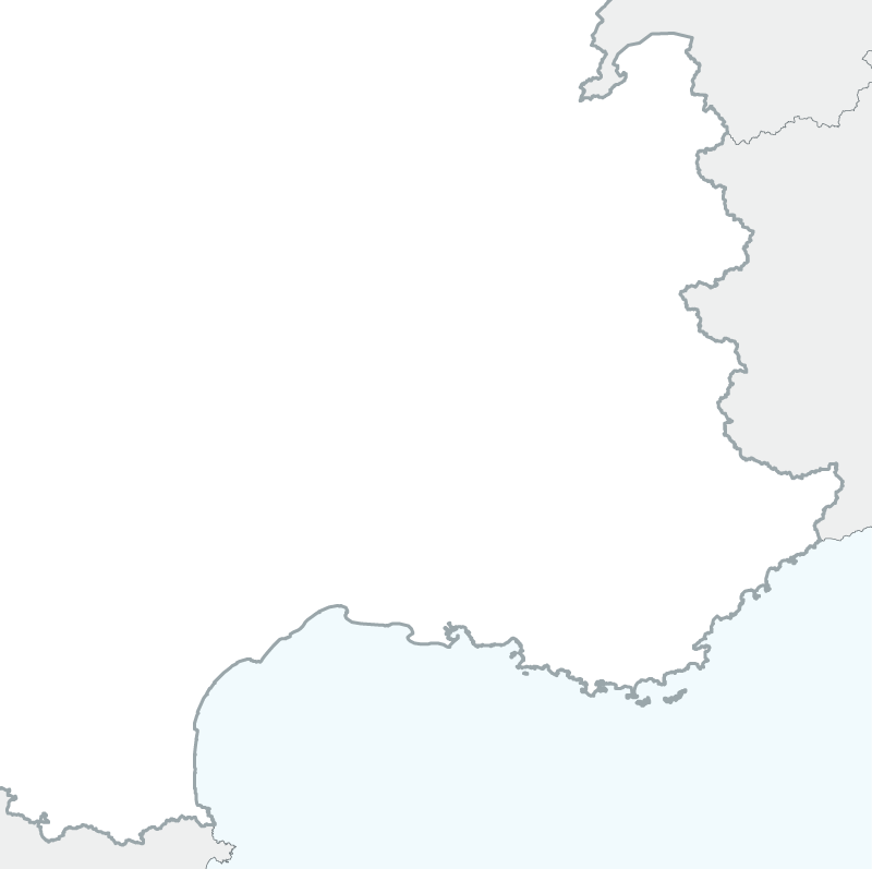 map of South-east France
