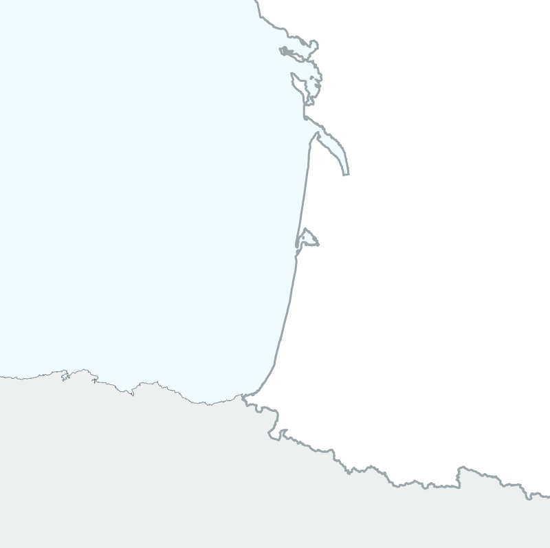 map of South-west France