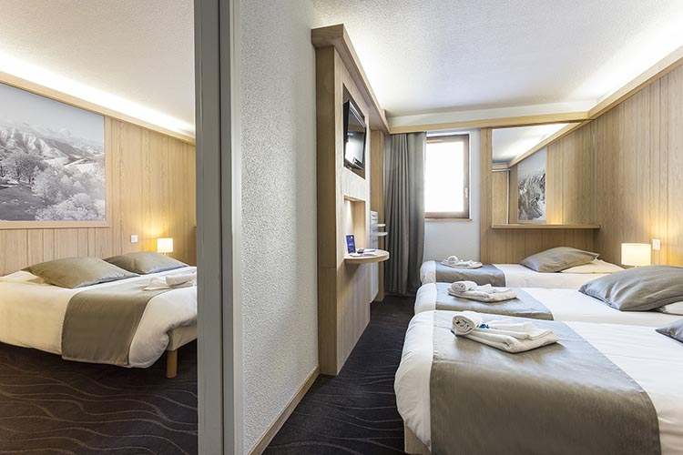 Hôtel Club mmv Alpe d'Huez, les Bergers, Isère, restaurant