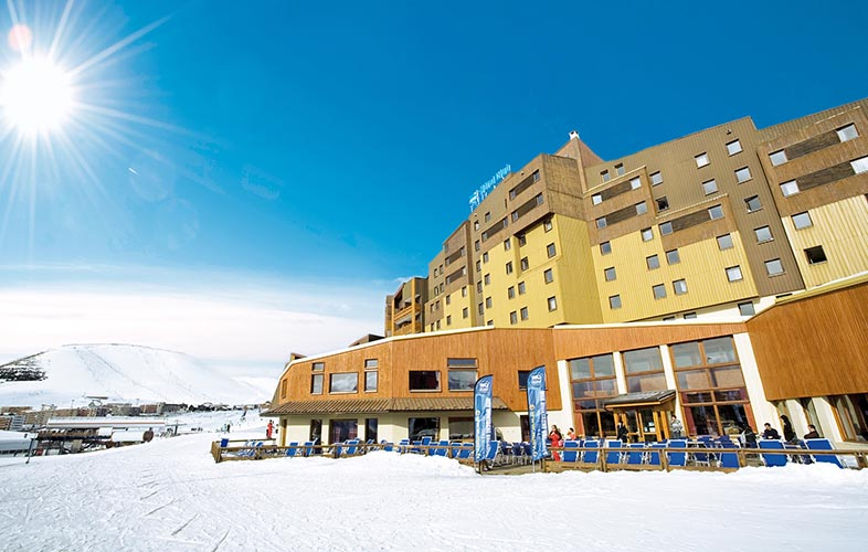 mmv Hotel Club Alpe Huez , les Bergers, French Alps, Isère