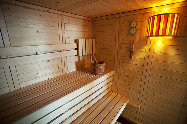 mmv Hotel Club Alpe Huez , les Bergers, French Alps, Isère , sauna