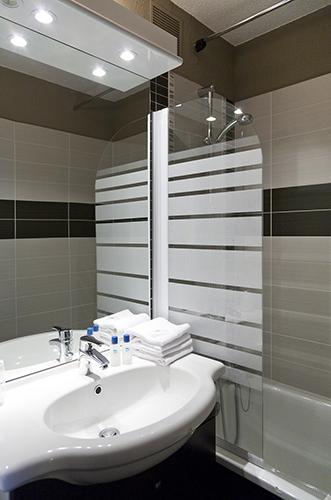 salle de bain hotel Arc 2000