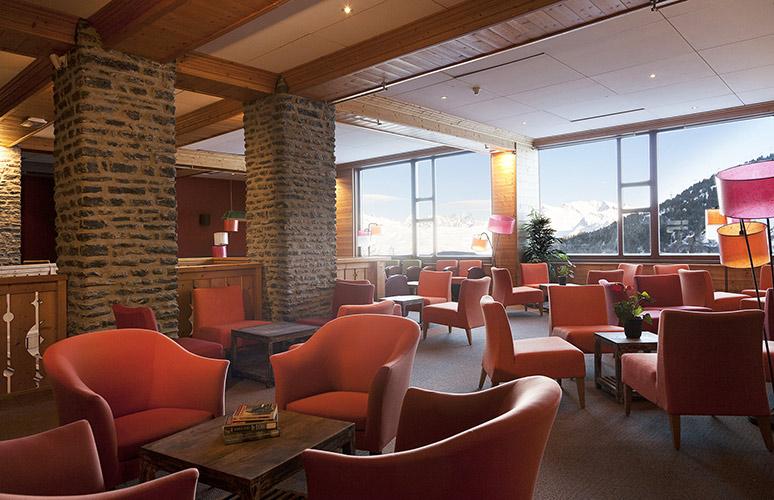mmv Hotel Club Arc 2000, Altitude, Savoie, French Alpes, living room
