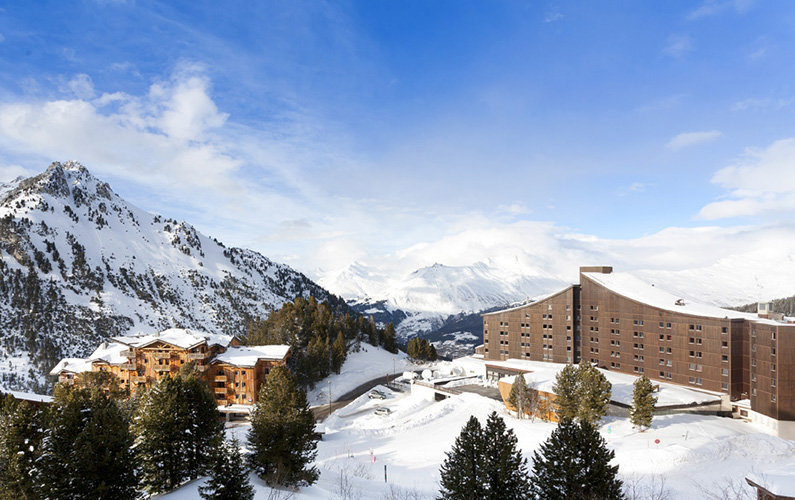 hotel club ski Arc 2000