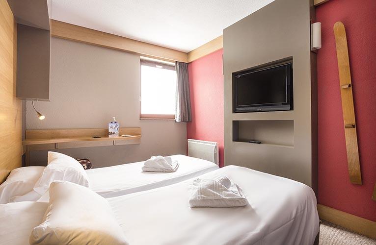 réservation chambre d'hotel Arc 2000