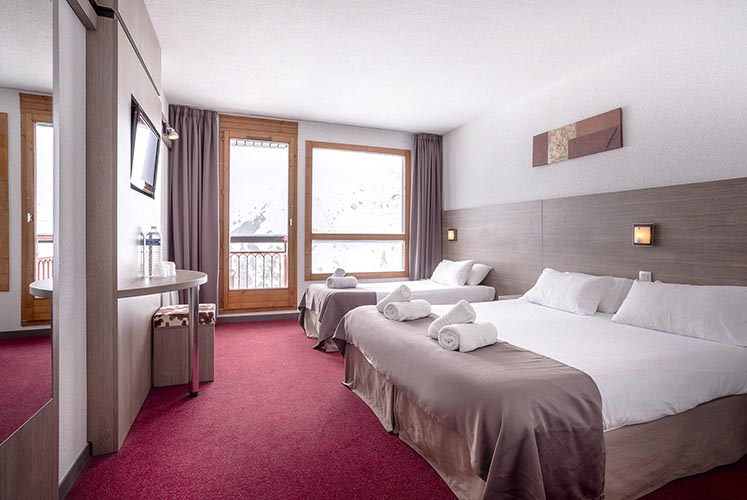 mmv Hotel Club Arc 2000, Les Mélèzes, Savoie, room