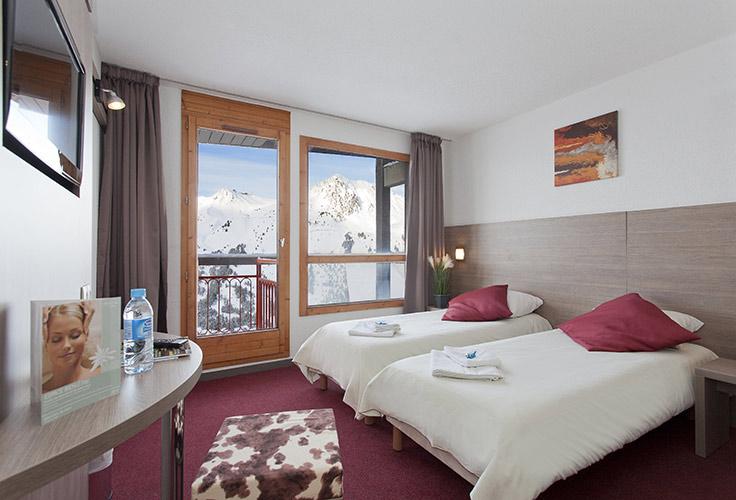 Réservation chambre d'hôtel Arc 2000 Les Mélèzes