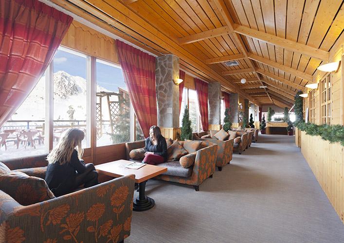 espaces communs séjour de vacances Arc 2000 Les Mélèzes