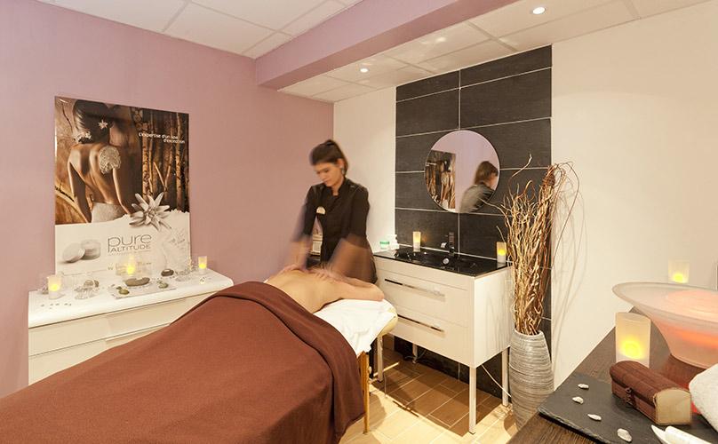 soins, sauna et spa hotel Arc 2000 Les Mélèzes