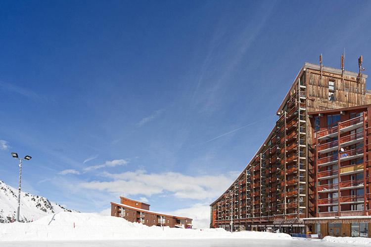 Hôtel Club ski Arc 2000 les melezes