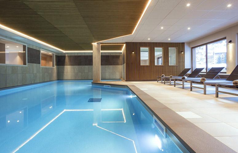 Areche Beaufort piscine Clé des Cimes