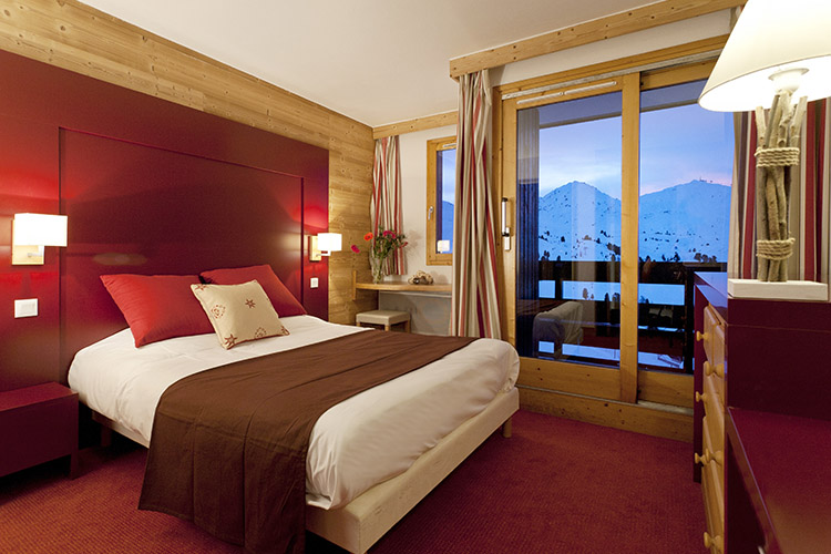Belle Plagne, mmv Residence Club Le Centaure, French Alps, Savoie, rooms