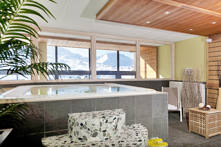 Belle Plagne, mmv Residence Club Le Centaure, French Alps, Savoie, spa