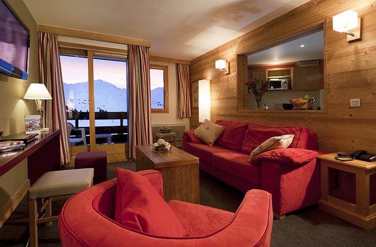 Réservation chambre résidence Belle-Plagne