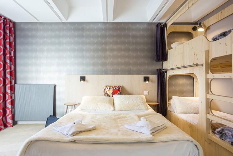 chambre hotel club Le Flaine