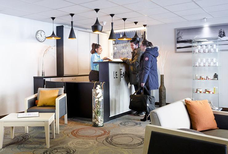 Reception hôtel Flaine