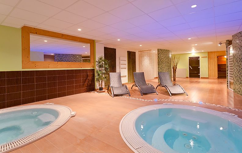 2 Alpes hotel jacuzzi spa