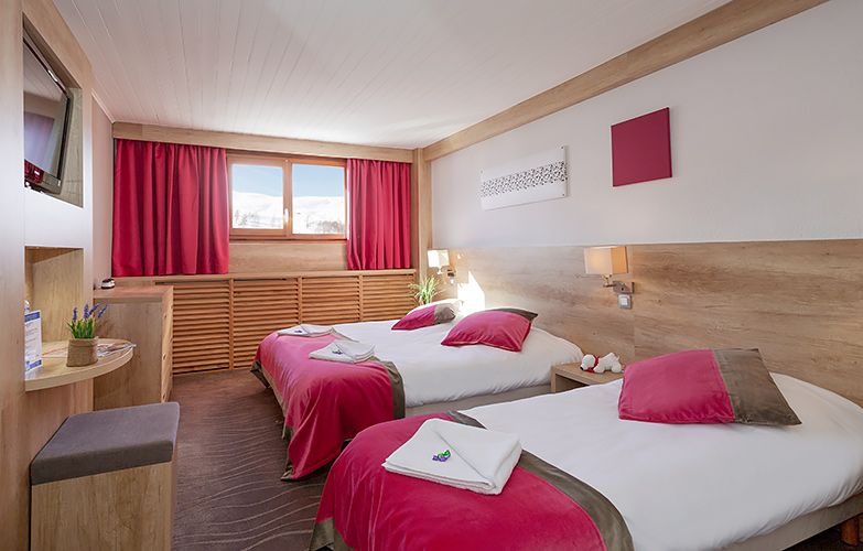 mmv Hotel Club Les 2 Alpes, Le panorama, Les deux Alpes, Isère, French Alps, rooms
