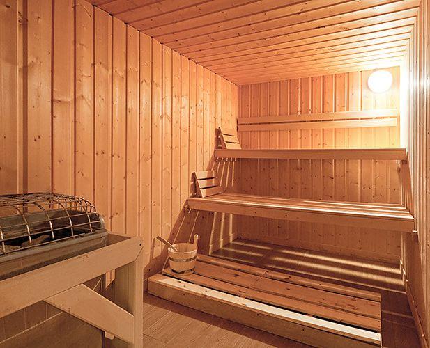 2 Alpes hotel sauna