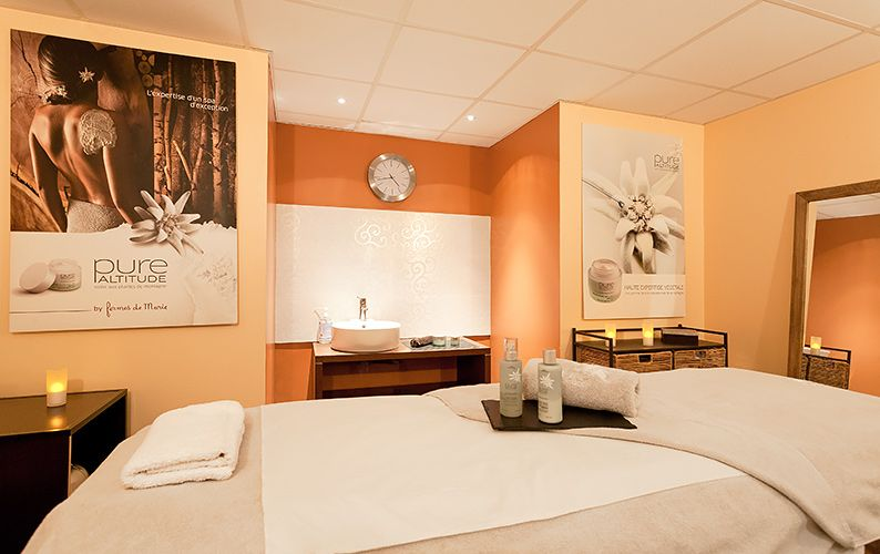 2 Alpes spa massage hotel
