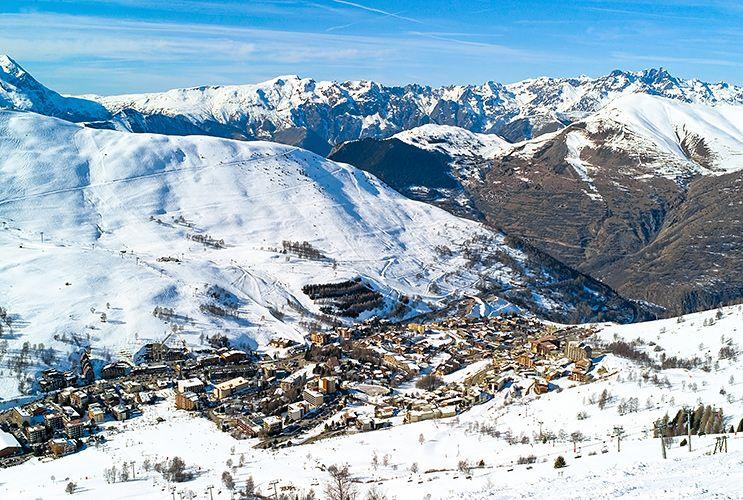 station ski 2 alpes