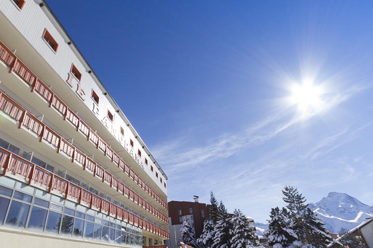 mmv Hotel Club Les 2 Alpes, Le panorama, Les deux Alpes, Isère, French Alps