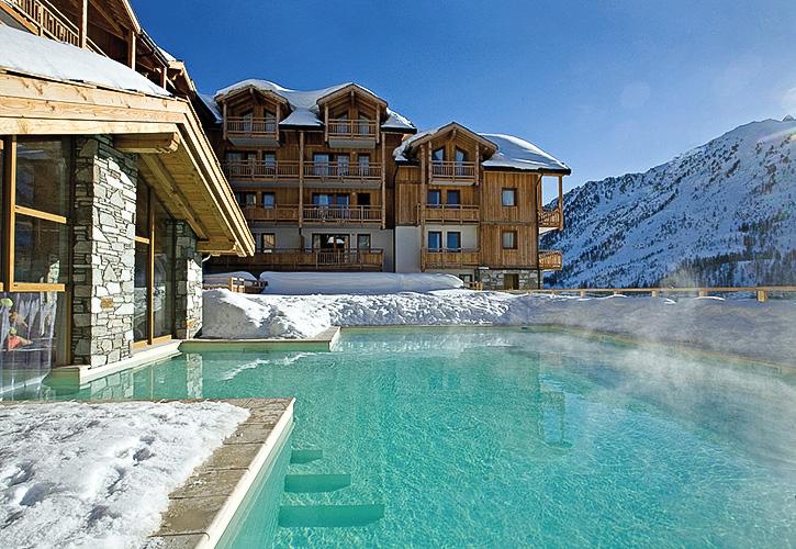 Résidence Club piscine Montgenevre